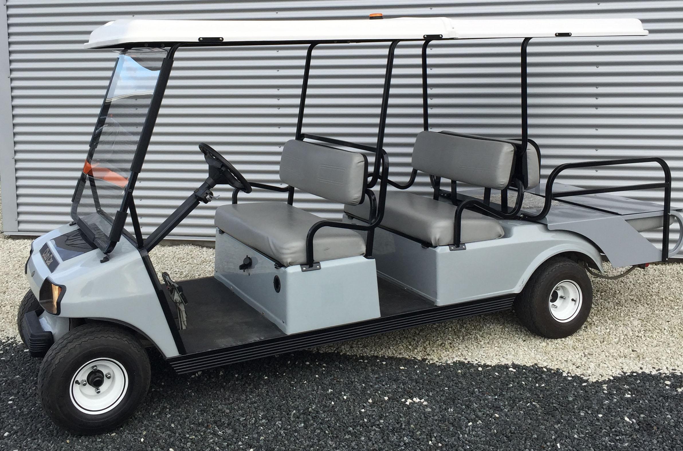 club car 6 seater muchbetter golf. Black Bedroom Furniture Sets. Home Design Ideas
