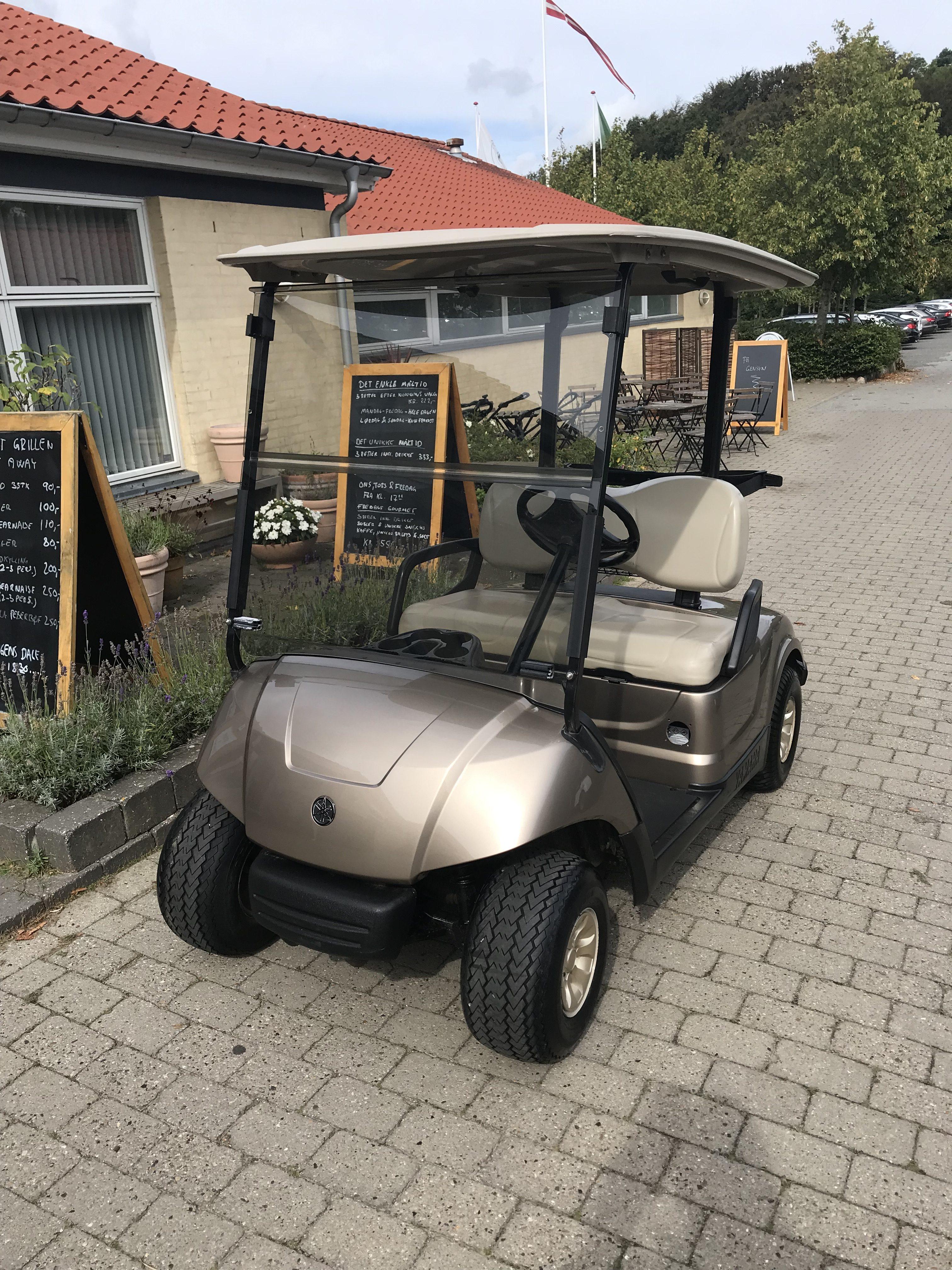 Renoveret golfbil Yamaha Model G29