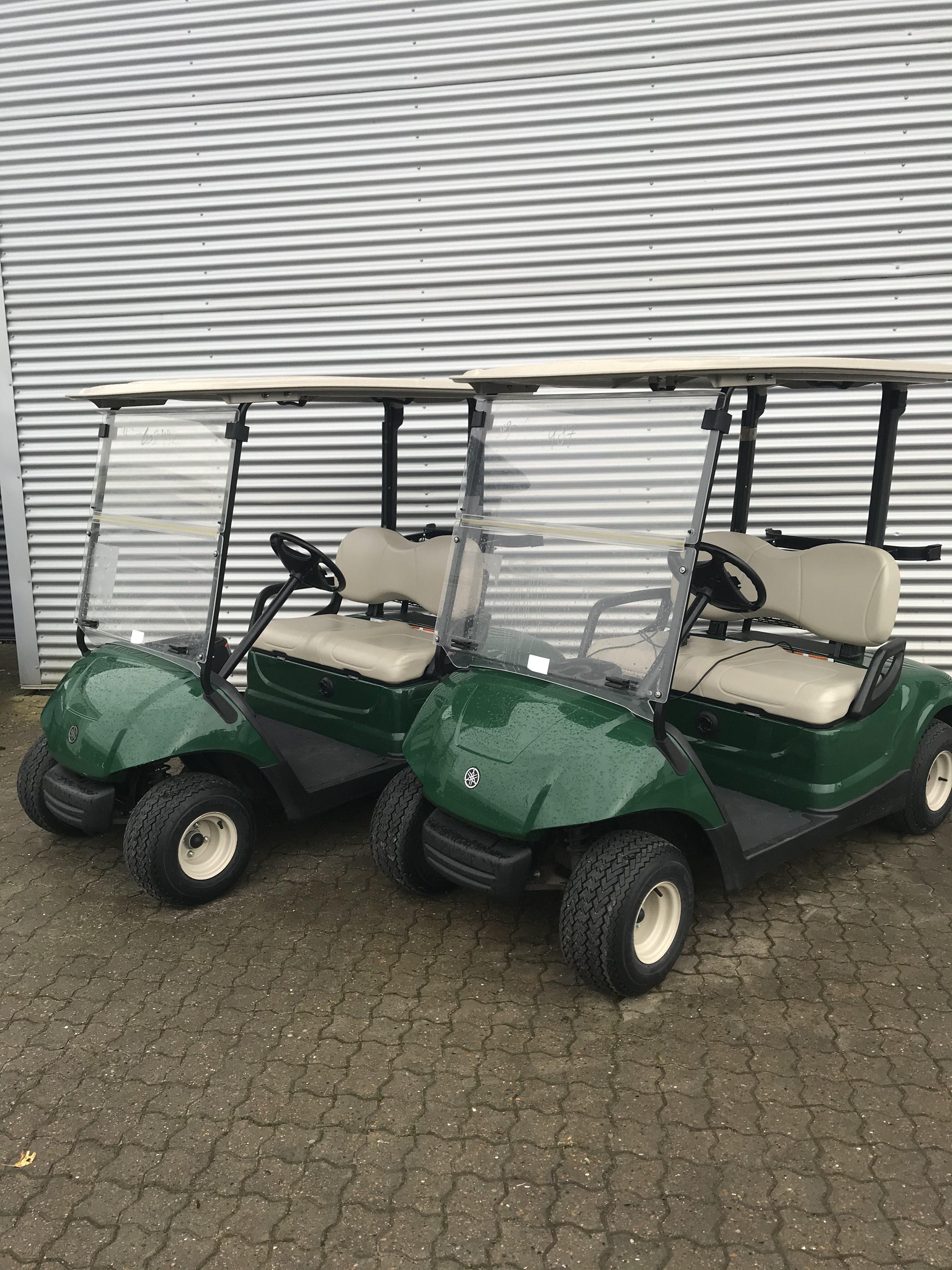 renoverede golfbiler grøn Yamaha model G29